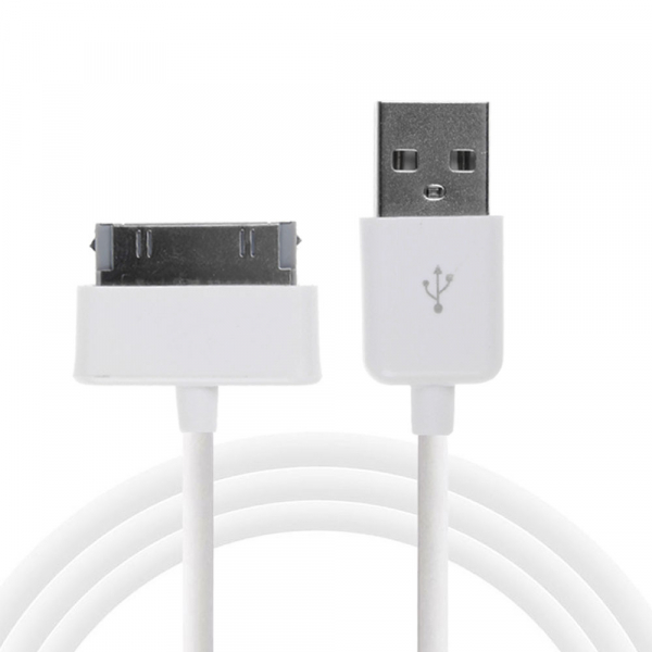 Câble USB Data Samsung GALAXY TAB / TAB 2 / NOTE 10.1 - Blanc