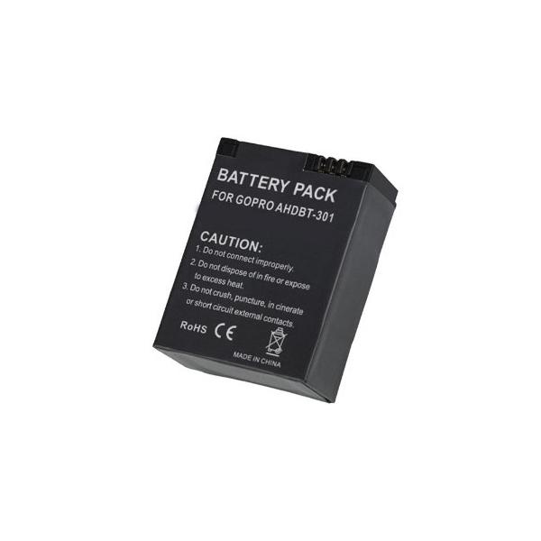 Batterie de rechange - Compatible GoPro Hero 3 / Hero 3+