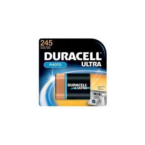 Pile photo 2CR5 Ultra DURACELL - Blister de 1 - DL245 - Lithium 3V