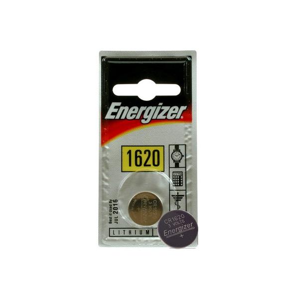 Pile électronique CR1620 ENERGIZER - Blister de 1 - Lithium 3V