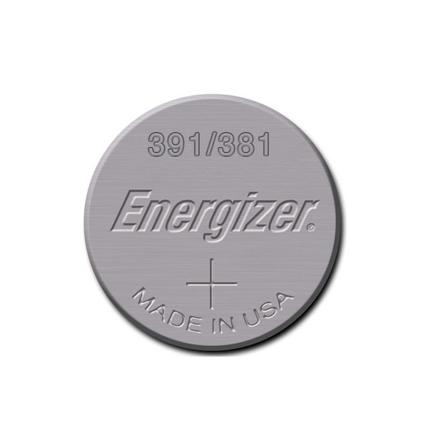 Pile de montre 391/381 ENERGIZER - Blister de 1 - SR1120W - Oxyde d'argent