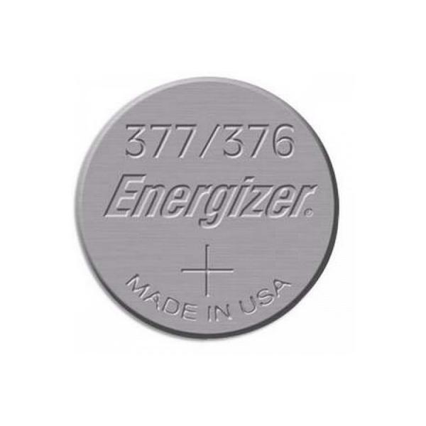 Pile de montre 376 / 377 ENERGIZER - Blister de 1 - SR626SW - Oxyde d'argent
