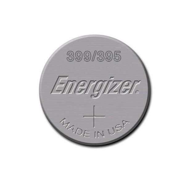Pile de montre 395/399 ENERGIZER - Blister de 1 - SR927SW - Oxyde d'argent