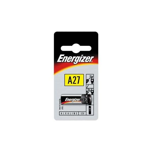 Pile électronique 27a Energizer Blister De 1 Alcaline 12v