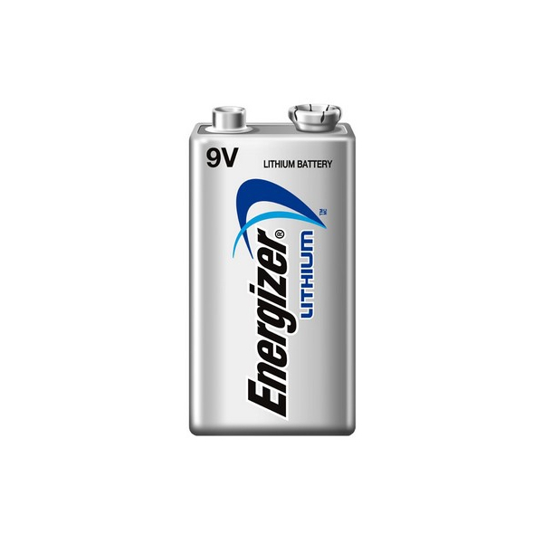 Pile 9V ENERGIZER - Blister de 1 - L522 - Lithium