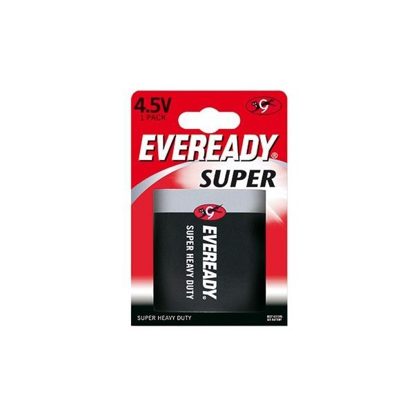 Pile 3R12 Eveready ENERGIZER - Blister de 1 - Saline 4,5V