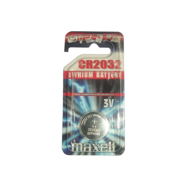 Pile électronique CR2032 MAXELL - Blister de 1 - Lithium 3V
