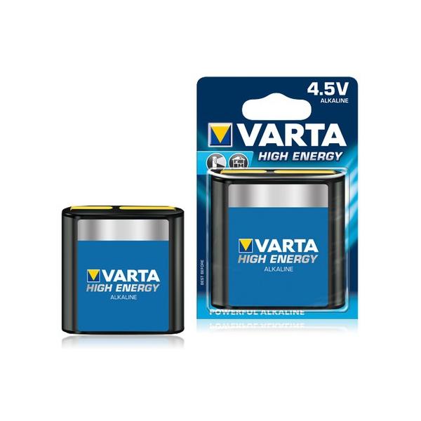 Pile 3LR12 High Energy VARTA - Blister de 1 - Alcaline