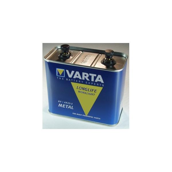 Pile 4R25/2 metal VARTA - Blister de 1 - Saline