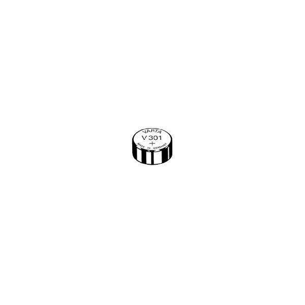 Pile de montre V301 VARTA - Blister de 1 - SR43 - Oxyde d'argent