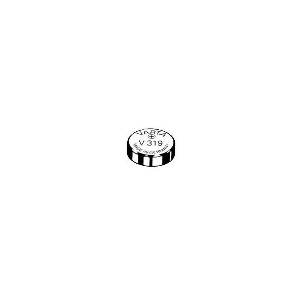 Pile de montre V319 VARTA - Blister de 1 - SR64 - Oxyde d'argent
