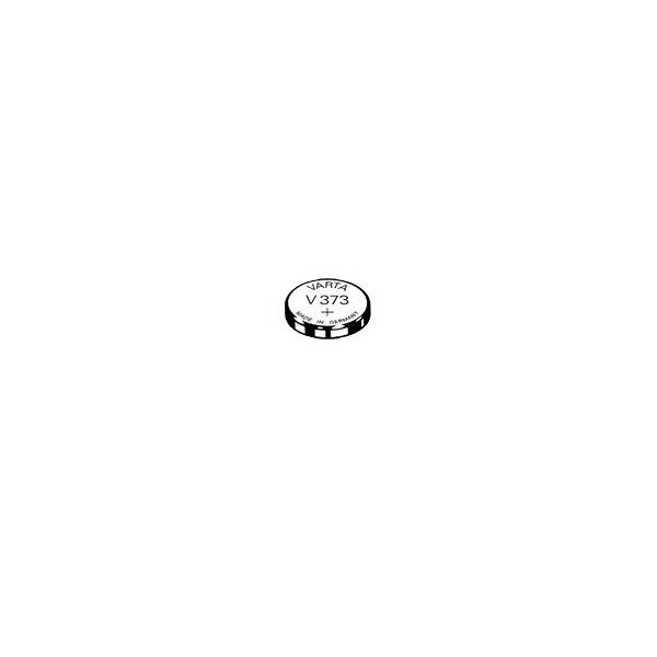 Pile de montre V373 VARTA - Blister de 1 - SR68 - Oxyde d'argent