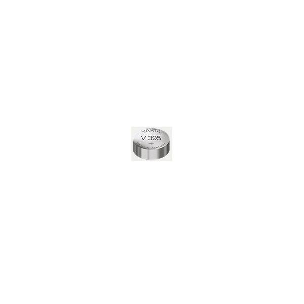 Pile de montre V395 VARTA - Blister de 1 - SR57 - Oxyde d'argent