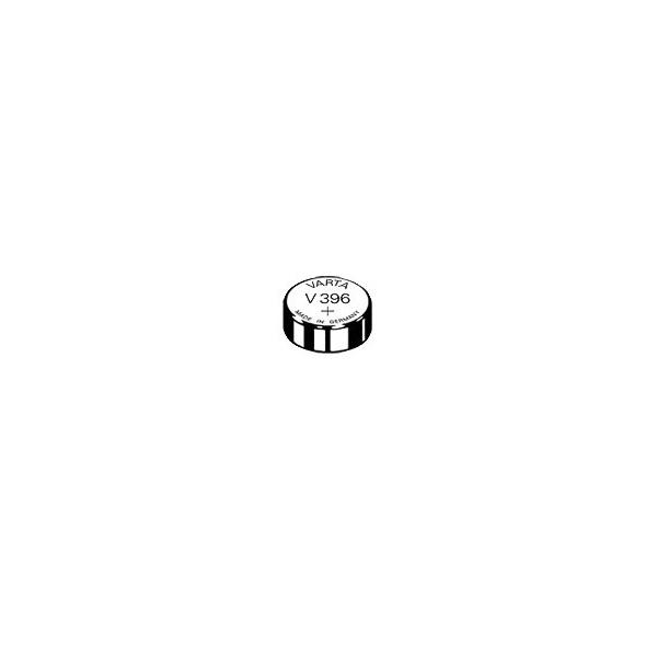 Pile de montre V396 VARTA - Blister de 1 - SR59 - Oxyde d'argent