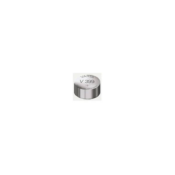 Pile de montre V399 VARTA - Blister de 1 - SR57 - Oxyde d'argent