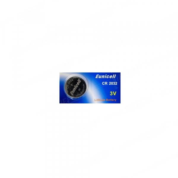 Pile électronique CR2032 EUNICELL - Blister de 1 - Lithium 3V