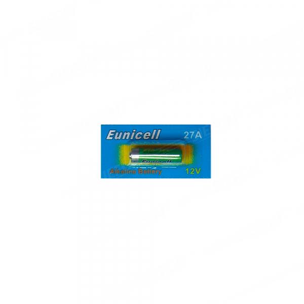 Pile 27A EUNICELL - Blister de 1 - Alcaline 12V