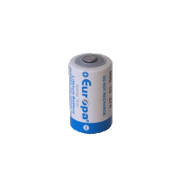 Pile ER14250 EUROPA - LS14250 - CR1/2AA - SL750 -  Lithium 3,6V - 1,2 Ah