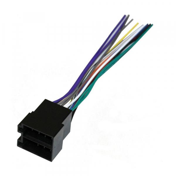 Connecteur universel ISO pour autoradio - Femelle - A souder