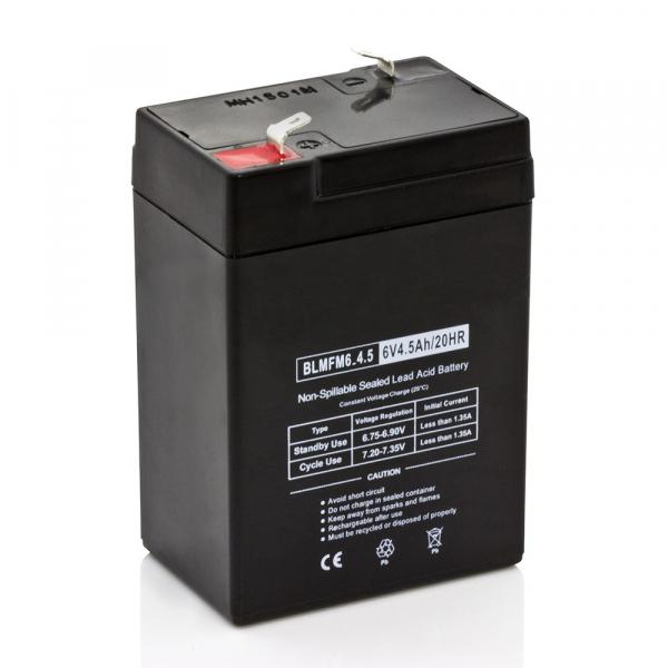 Batterie plomb - 6V - 4.5 Ah