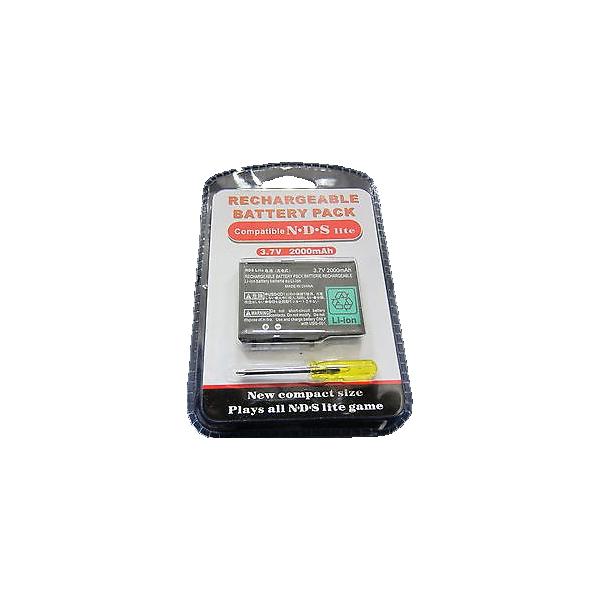 Pack batterie + tournevis - Nintendo DSL Lite - 2000 mAh