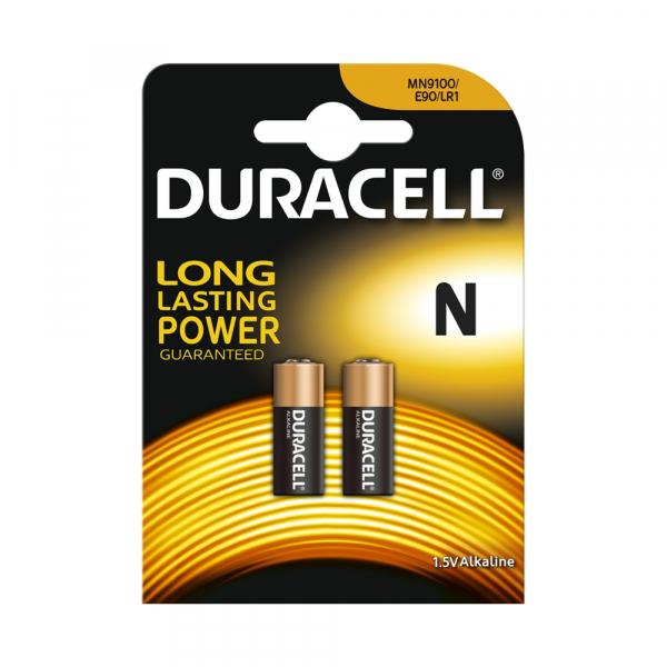 Piles électroniques LR01 DURACELL - Blister de 2 - MN9100