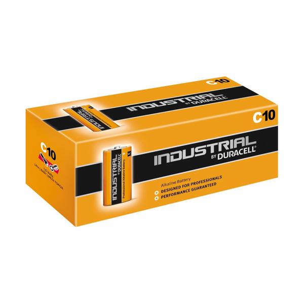 Piles industrielles LR14 INDUSTRIAL BY DURACELL - Boite de 10 - MN1400