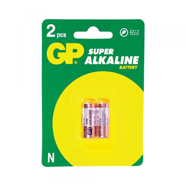 Piles électroniques LR1 GP - Blister de 2 - MN9100 - N