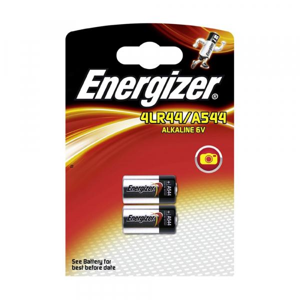 Piles électronique 4LR44 ENERGIZER - Blister de 2 - 4034PX /  A544 - 6V