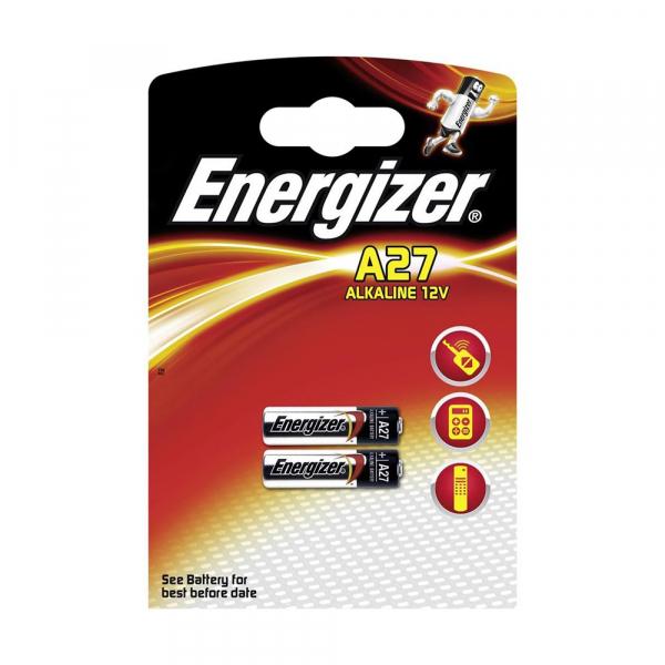 Piles électronique 27A ENERGIZER  - Blister de 2 - Alcaline 12V