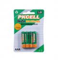 PKCELL AAA NiZn - 900 mAh - Rechargeables