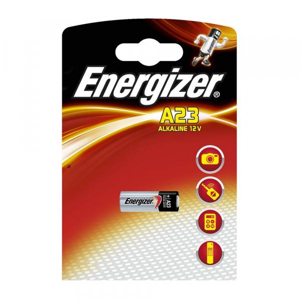 Pile 23A ENERGIZER - Blister de 1 - Alcaline 12V