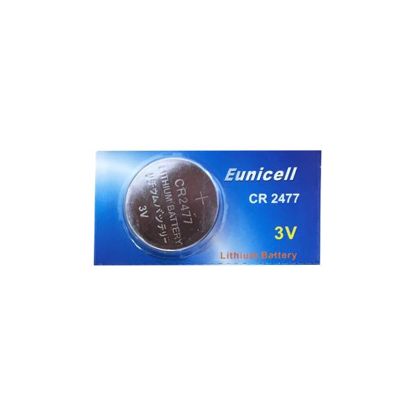 Pile CR2477 EUNICELL - Blister de 1 - Lithium 3V