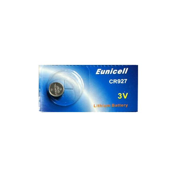 Pile électronique CR927 EUNICELL - Blister de 1 - Lithium 3V