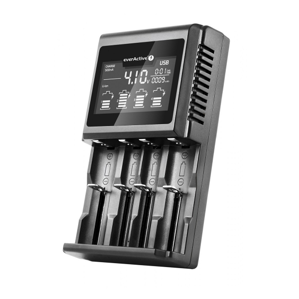 Chargeur Professionnel Intelligent EVERACTIVE - UC4000 - Multi Formats