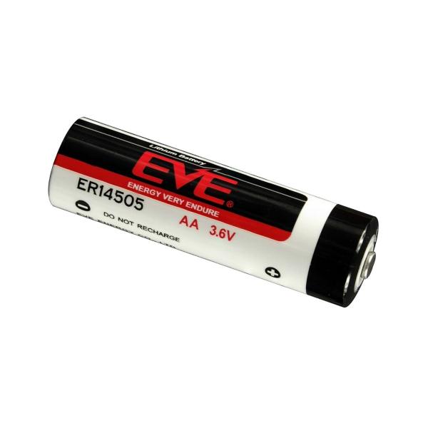 Pile ER14505 EVE - Blister de 1 - Lithium 3,6V - 14500 / AA