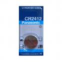 Pile CR2412 PANASONIC - Blister de 1 - Lithium 3V