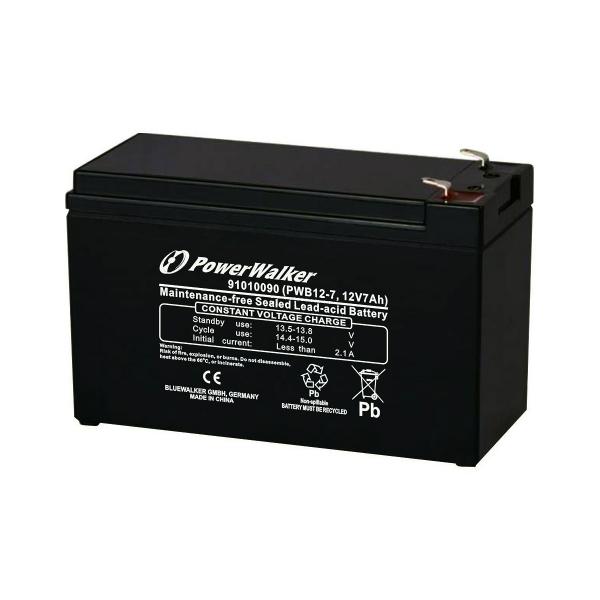 Batterie au plomb PowerWalker - 12V - 7Ah - PWB12-7