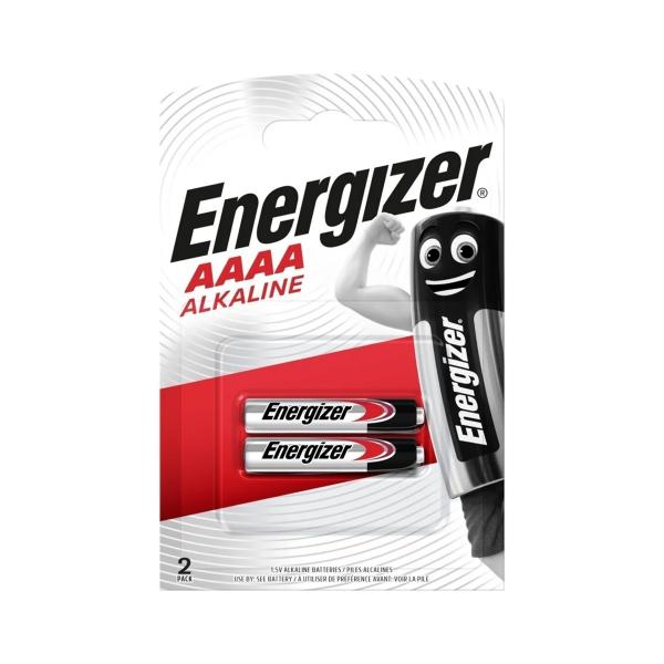 Piles LR61 ENERGIZER - Blister de 2 - AAAA / E96 - Alcaline
