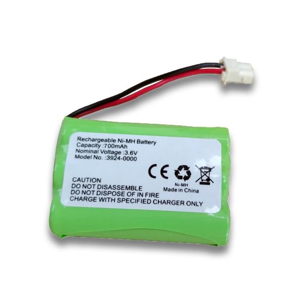 Batterie 3924-0000 pour SLENDERTONE System Plus / Abs / Arms / Mini - Ni-Mh 3,6V - 700mAh