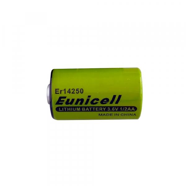 Pile ER14250 EUNICELL - Blister de 1 - Lithium 3,6V