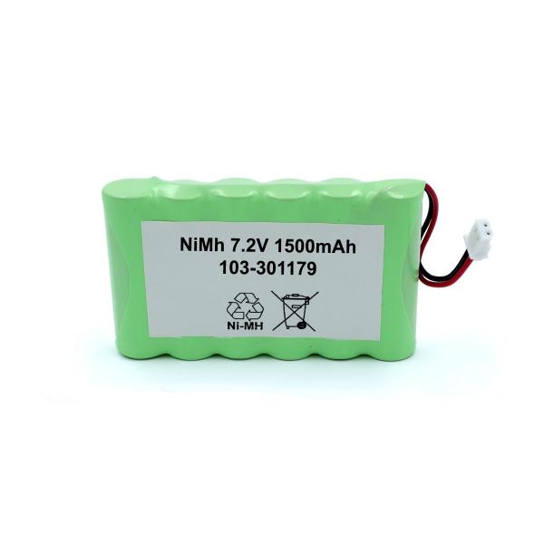Batterie 103-301179 pour VISONIC PowerMaster 30 Control Panel - NiMh 7.2V / 1500mAh