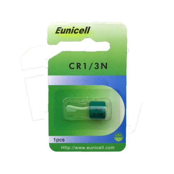 Pile électronique CR1/3N EUNICELL - Blister de 1 - CR11108 - DL1/3N