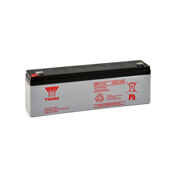 Batterie au plomb YUASA - 12V - 2.1Ah - NP2.1-12