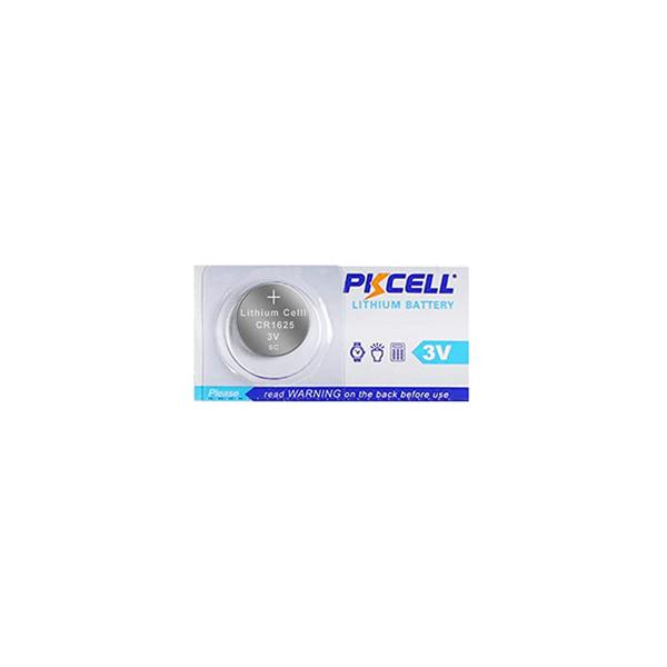 Pile électronique CR1625 PKCELL - Blister de 1 - Lithium 3V